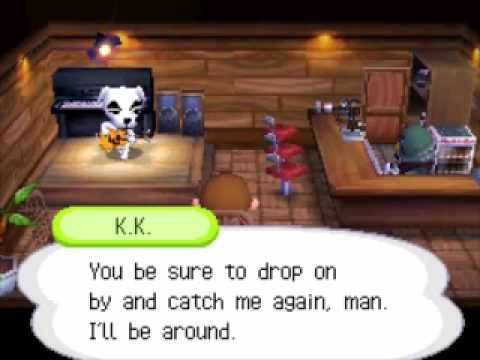 Animal Crossing Wild World - KK Rockabilly