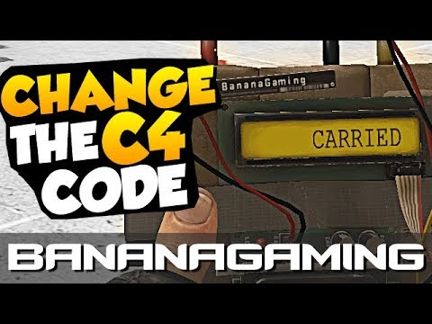 Change the C4 Code - Download Pack Included + Fun Fact - CSGO