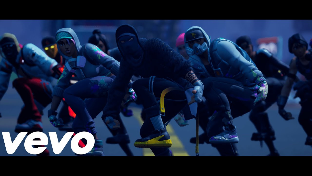 """Download A$ap Ferg - Work Remix (Official Fortnite Music Video) SOCKS EMOTE   """"coogi down to the socks"""""""