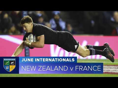 2018 June Test Series: First test New Zealand v France