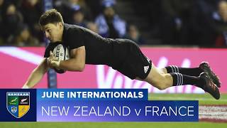 2018 June Test Series: First test New Zealand v France