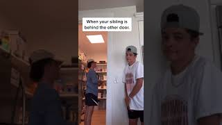 Scaring MY TWIN!   Opportunity Tik Tok Trend!   Brock and Boston #Shorts