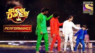 "A Quartet Dance On ""Abhi Mujh Mein Kahin"" Impresses The Judges! | Super Dancer Chapter 2"