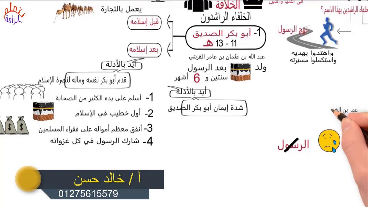 خلافة ابو بكر الصديق pdf