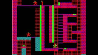 Десантник 4 (лабиринт) игра на БК-0010-01