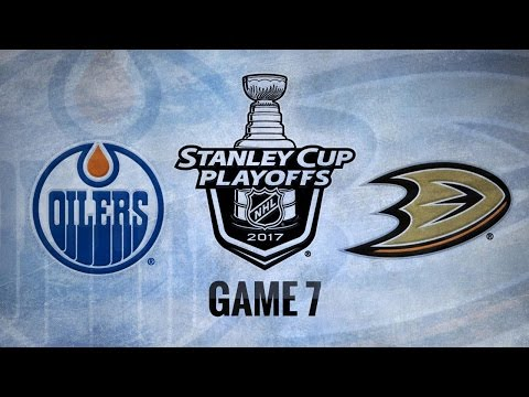 Ducks down Oilers in Game 7, move on to WCF