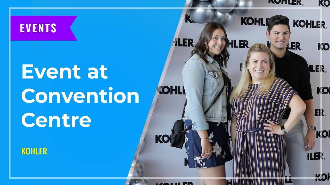EVENTS: Kohler at Vancouver Convention Centre