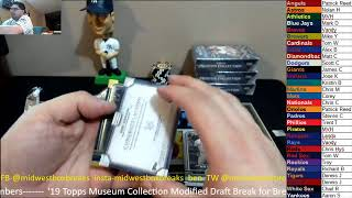 Midwest Box Breaks Topps Museum Collection Baseball Breaks