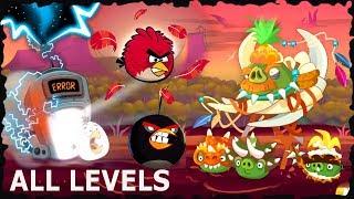 Angry Birds - Jurassic Pork Mobile Game All Levels Walkthrough