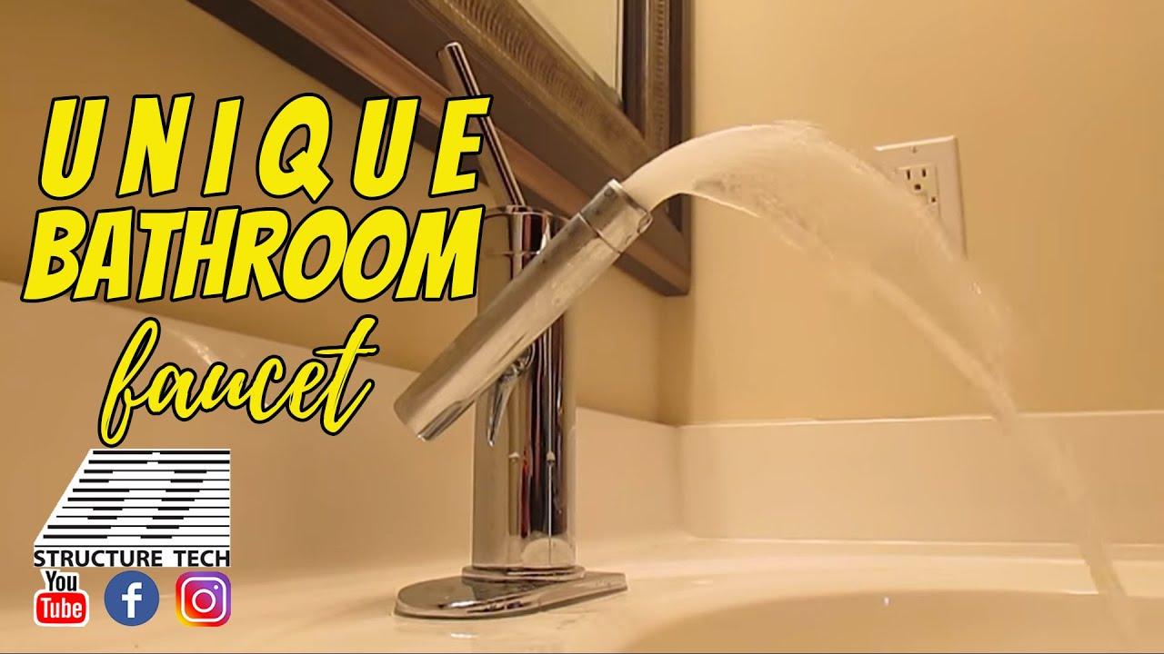 Unique Bathroom Faucet, Maple Grove Home Inspections