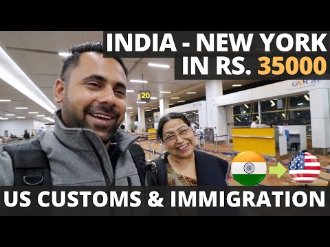 India to New York Rs 35,000 – USA Customs & Immigration Questions – Cheap Flights – Etihad A380