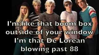 r5 here comes forever karaoke cover backing track lyrics acoustic instrumental
