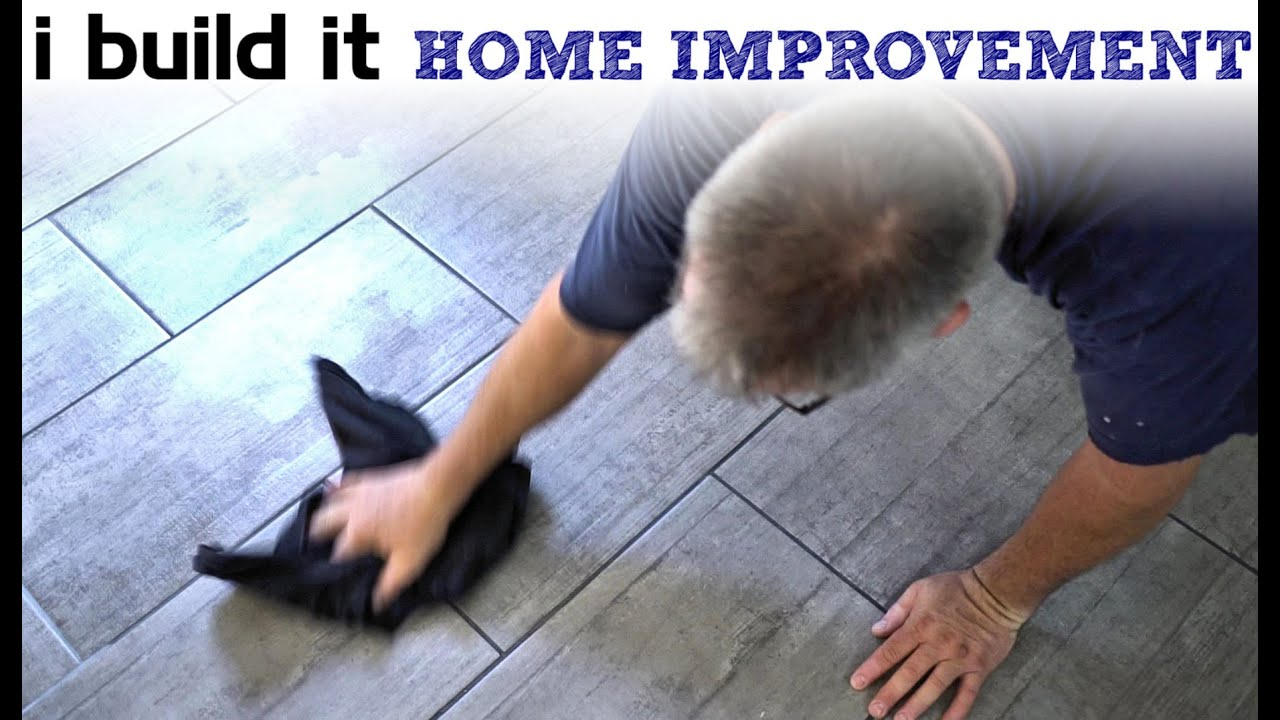 Grouting Ceramic Tiles - YouTube