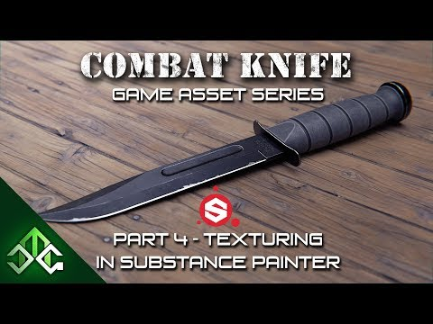Creating a Combat Knife Game Asset
