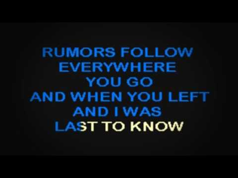 SC2030 01   Gin Blossoms   Found Out About You [karaoke]