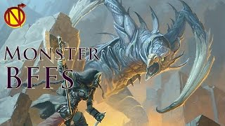 Lizard King Riding a Wyvern into Battle- Monster Bff| Dungeons and Dragons Monsters