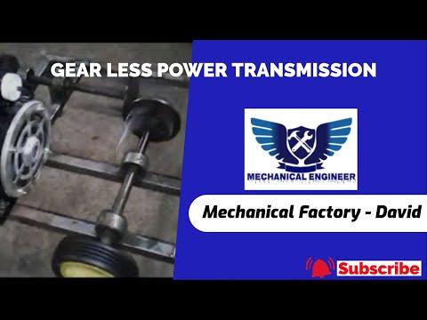 GEAR LESS POWER TRANSMISSION