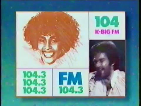 Big Mix 104 Los Angeles commercial early 90s