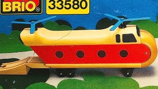 BRIO Wooden Railway HELICOPTER 33580 Toy Train Review