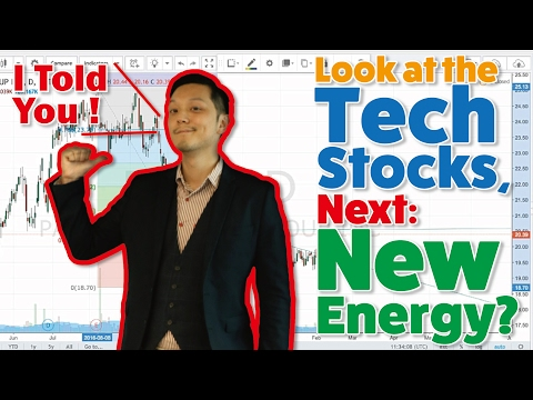 Look at the Tech Stocks, I Told You! Next: New Energy?
