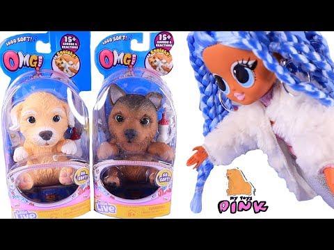 OMG PETS и Куклы Лол Сюрприз! Новый Сезон Питомцы - Little Live от Май Тойс Пинк
