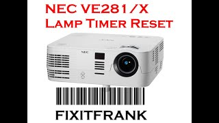 NEC VE281X Video Projector Lam…