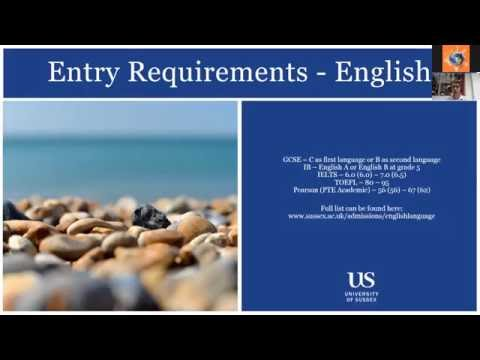 "Вебинар ""Study at University of Sussex with Global Education"""
