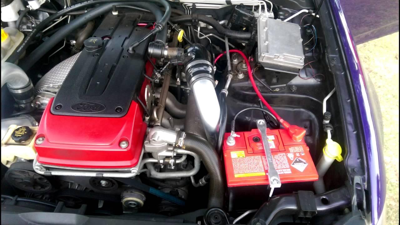 Brads FG XR6 Turbo PLazmaman Intake