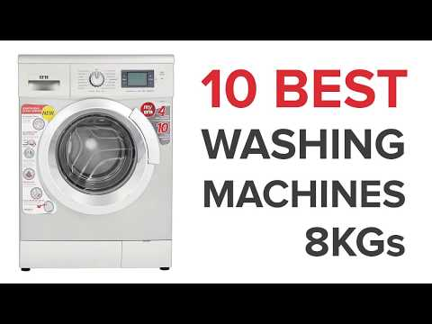 10 Best 8kg Washing Machines In India With Price