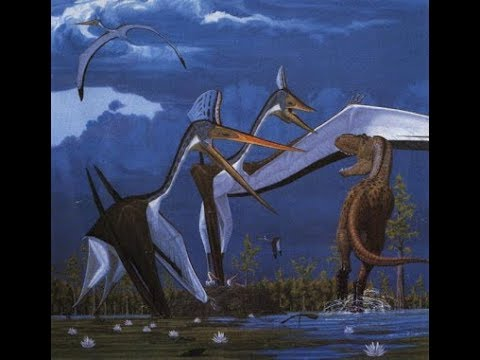 The Gigantic Pterosaur - Quetzalcoatlus