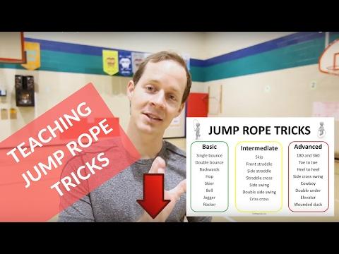 How to Teach Jump Rope Tricks in PE |Basic, Intermediate and Advanced|