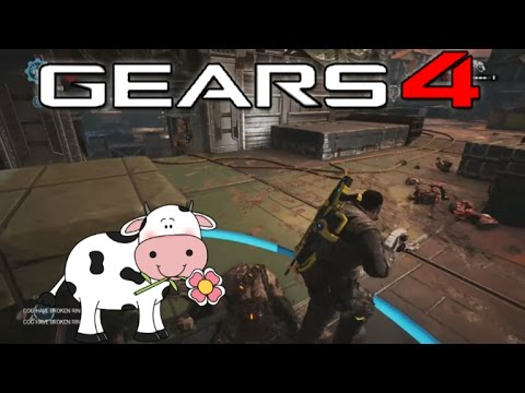 GEARS OF WAR 4 - MooMooMiLK Commentary #2 (Haters, Clutches & Weapons OP?)