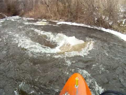 Whitewater On Bear River, Petoskey Michigan GOPRO HERO HD