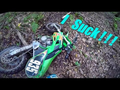 How Not To Ride A Dirt Bike - Kx 125 Moto Vlog #7