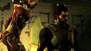Deus Ex Human Revolution: I Have Not Replaced My Biochip! (Boss Fight With Jaron Namir)