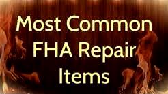 FHA Appraisal Repair Items - Rowe Appraisal Group - 847.863.5776