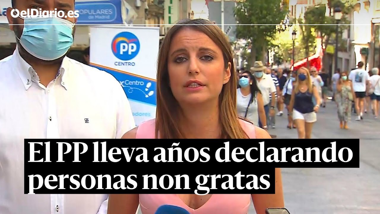 """El PP dice que es """"deleznable"""" declarar personas non gratas aunque lleva años haciéndolo"""