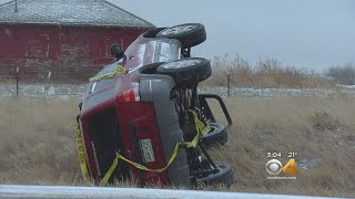Slick Conditions Contribute To Multiple Crashes