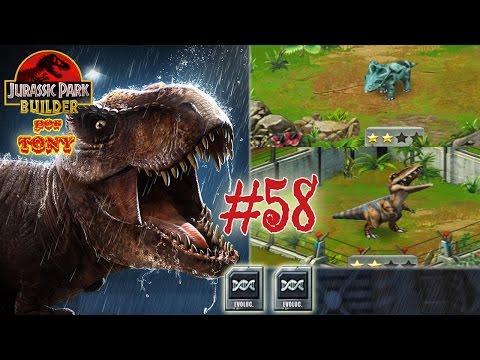 """Jurassic Park Builder """"Cap. 58 - Segunda evolución de Pachyrhinosaurus y Albertosaurus"""" por Tony"""