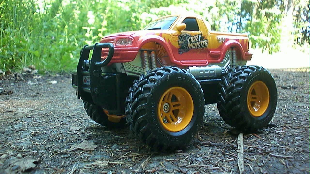 Monster Truck Toys Cars Rc Adventures Crazy Monstertruck