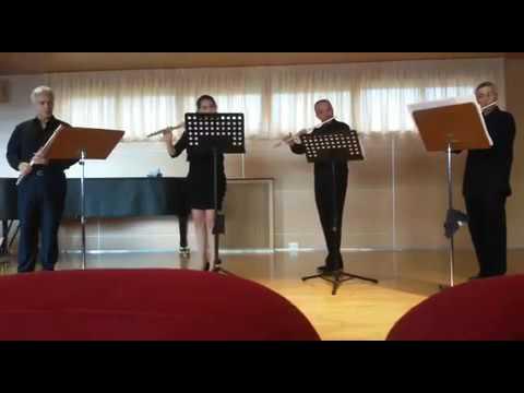 Friedrich Daniel Rudolph Kuhlau: primo movimento dal quartetto per flauti