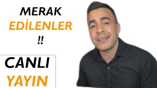 MERAK EDİLENLER!! (Satış ve Pazarlama) | Canlı Yayın