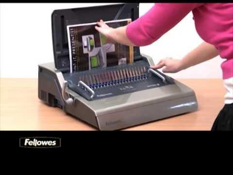 Fellowes Galaxy 500 Electric Comb Binding Machine