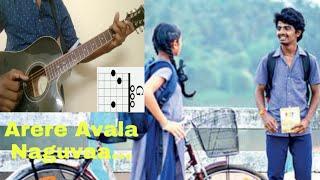 How to play Arere Avala Naguva song on guitar (Kannada Tutorial)