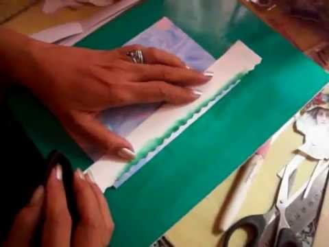 A Video Birthday Card requested by Joseph - Created by Myra of Philippine Marbled Paper