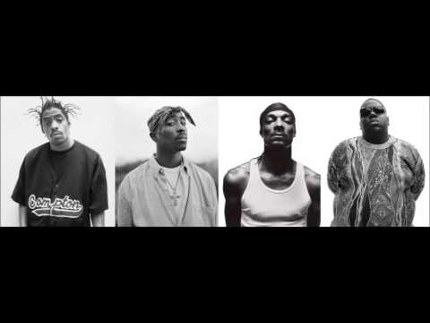 Coolio,2Pac,Snoop Dogg & Notorious BIG  Gangstas Paradise Remix