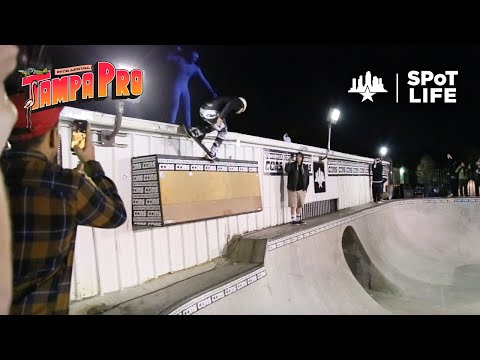 Tampa Pro 2020: Converse Concrete Jam – Clay Kreiner, Zion Wright, Andy Anderson – SPoT Life