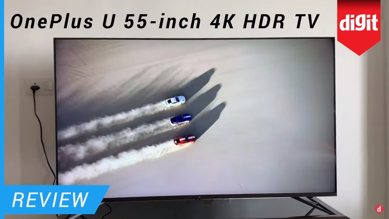 OnePlus U1 55-inch 4K HDR TV review: Best TV under Rs 50,000?
