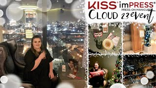 Cocktails and Cloud 23: KISS Products Event ❁ leahxo