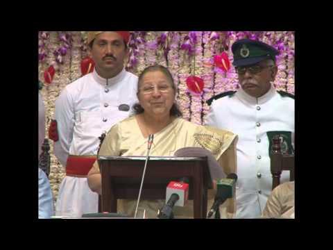 Lok Sabha Speaker Smt Sumitra Mahajan addresses All India Presiding Officers Conference